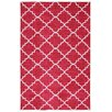 Mohawk Home Strata Fancy Trellis Hot Pink Printed Area Rug