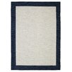 Mohawk Home Loop Print Base Brutti Grey/Navy Area Rug