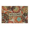Mohawk Home Eastern Suzani Welcome Doormat