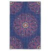 Mohawk Home Loop Print Base Lacee Navy Area Rug