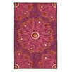 American Rug Craftsmen Loop Print Base Lacee Purple Area Rug