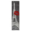 Mohawk Home Aurora Pairs Love Eiffel Tower Urban Grey Area Rug
