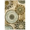 Mohawk Home New Wave Trailing Vines Multi Printed Area Rug