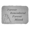 Design Toscano Forever Remembered...Angel Memorial Garden Marker Stepping Stone