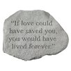 Design Toscano If Love Could Have Saved You...Memorial Garden Marker Stepping Stone