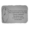 Design Toscano Unseen, Unheard, but Always Near...Angel Memorial Garden Marker Stepping Stone