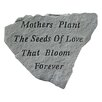 Design Toscano Mothers Plant the Seeds of Love...Memorial Garden Marker Stepping Stone