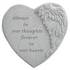 Design Toscano Always in Thoughts...Angel Wing Memorial Garden Marker Stepping Stone