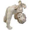 Design Toscano Turvey Tumbling Cherub Statue