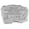 Design Toscano A Beautiful Soul...Memorial Garden Marker Stepping Stone