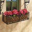 Tubular Steel Window Box Planter - Design Toscano Planters