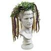 Design Toscano Bust Planter of Antiquity Emperor Caligula Statue