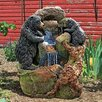 Design Toscano Grizzly Gulch Black Bears Resin Sculptural Fountain