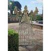 Tempest the Metal Garden Steel Gothic Trellis - Design Toscano Trellises
