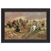 Design Toscano For Supremacy, 1895 Framed Painting Print on Canvas