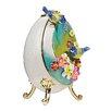 Design Toscano Decorative Bluebirds Faberge Enameled Egg