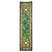 Design Toscano Asian Serenity Garden Stained Glass Window