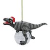 Design Toscano Blitzer the T-Rex Holiday Ornament