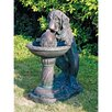 Dog's Refreshing Drink Sculptural Fountain - Design Toscano Indoor and Outdoor Fountains