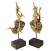 Design Toscano 2 Piece Piphat Thai Classical Musician Statues Set