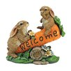 Design Toscano Bunny Bunch Welcome Sign Statue