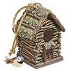 Backwoods 7 inch x 6 inch x 5.5 inch Birdhouse - Design Toscano Birdhouses