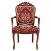 Design Toscano Crown Hill Baroque Arm Chair