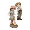 Design Toscano 2 Piece Fanny & Frank Farmer Statue