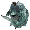 Design Toscano Giant Asian Dancing Fish Cast Spitting Garden Statue