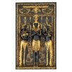 Design Toscano The Egyptian Pharaoh and His Maidens Wall Sculpture