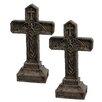 Design Toscano Balkan Vampire Blood Cross Statue (Set of 2)