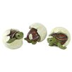 Design Toscano Out of the Shell Baby Turtle Triplet Statues