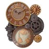 Design Toscano Gears of Time Large Wall Clock