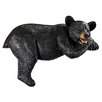 Design Toscano Lemont the Loveable Lounger Black Bear Statue