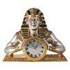 Design Toscano Egyptian Temple of Heliopolis Mantle Clock Statue