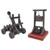Design Toscano 2 Piece Catapult and Guillotine Sculpture Set