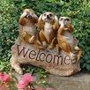 Design Toscano The Meerkat Menagerie Welcome Statue