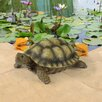 Gilbert the Box Turtle Statue - Design Toscano Garden Statues and Outdoor Accents