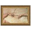 Design Toscano Creation, 1508-1512 by Michelangelo Buonarroti Framed Painting Print