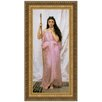 Design Toscano Young Priestess, 1902 by William-Adolphe Bouguereau Framed Painting Print