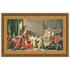 Design Toscano Death of Julius Caesar by Vincenzo Camuccini Framed Painting Print