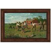 Design Toscano Snap the Whip, 1872 by Winslow Homer Framed Painting Print