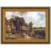 Design Toscano The Hay Wain, 1821 by John Constable Framed Painting Print
