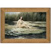 Design Toscano The Water Nymph, 1908 by Herbert James Draper Framed Painting Print
