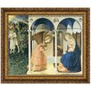 Design Toscano The Annunciation Altarpiece, 1426 by Fra Angelico Framed Painting Print