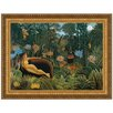 Design Toscano The Dream, 1910 by Henri Rousseau Framed Painting Print