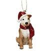 Design Toscano Pitbull Holiday Dog Ornament