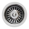 """Whitehaus Collection Waste Disposer Trim for 3.5"""" Fireclay Sinks"""