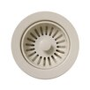Whitehaus Collection Basket Strainer for Deep Fireclay Application