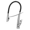 Whitehaus Collection Swanhaus Single Handle Deck Mounted Kitchen Faucet